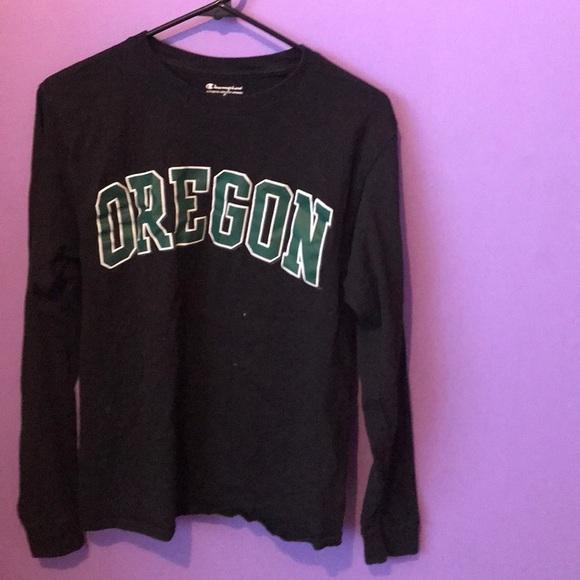e99012c171e6ec Champion Tops | University Of Oregon Long Sleeve | Poshmark